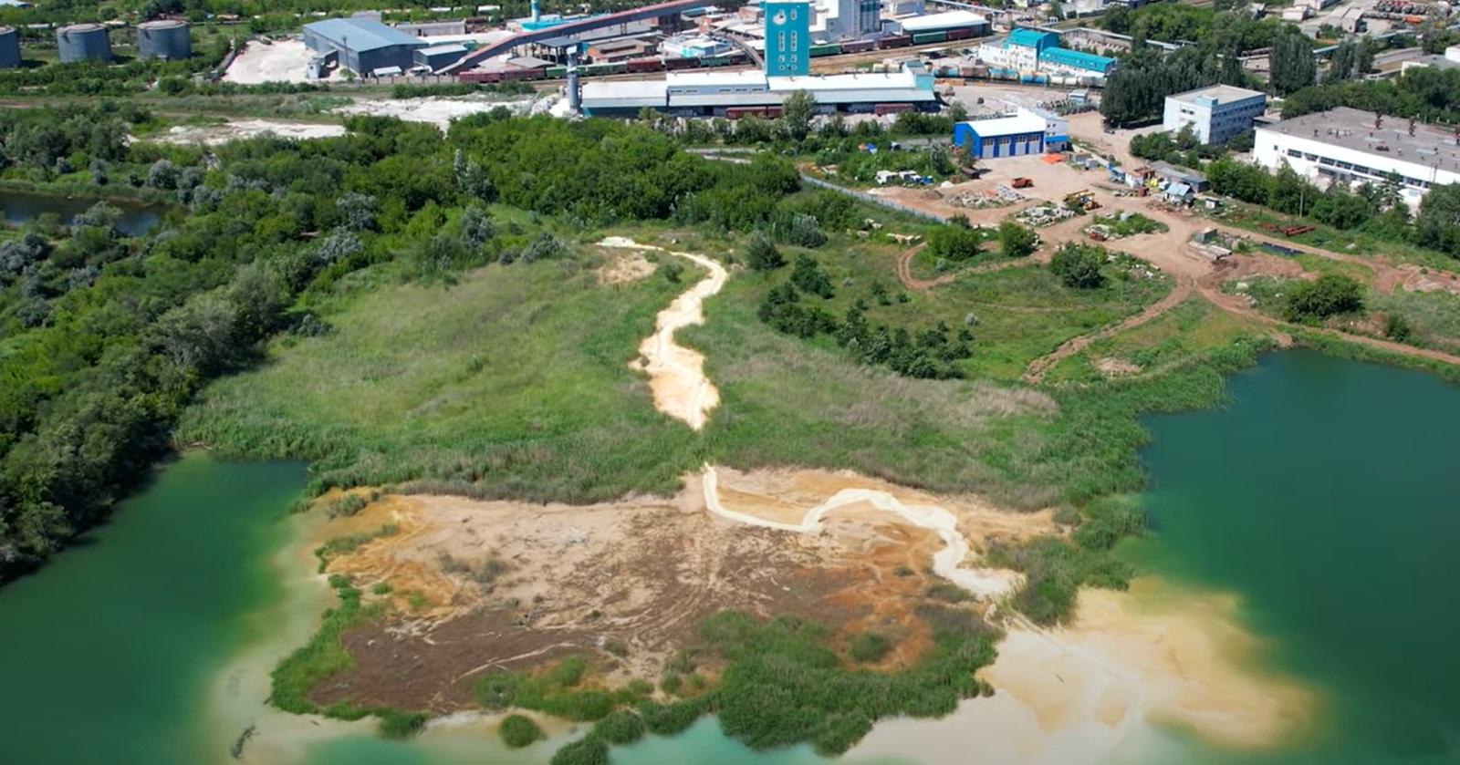 В Кировском районе Самары незаконная свалка причинила огромный урон экологии