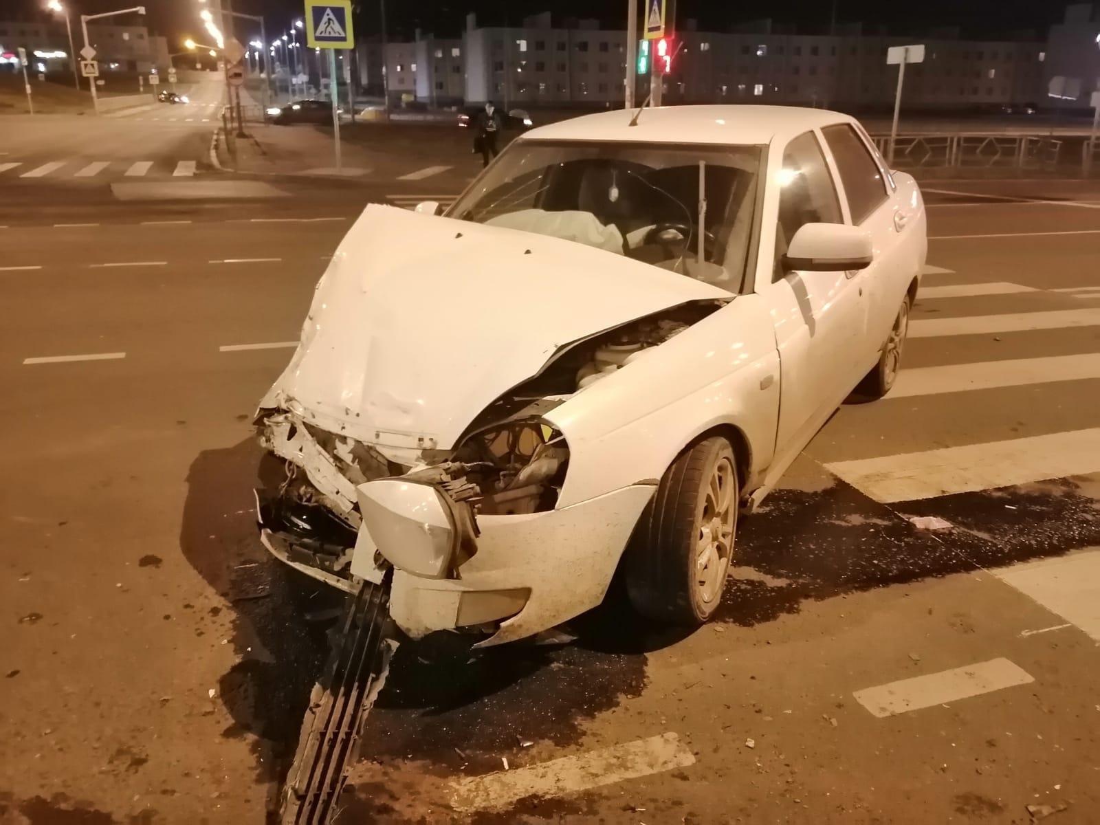 Все в белом. В ДТП в Самаре пострадали два ребёнка