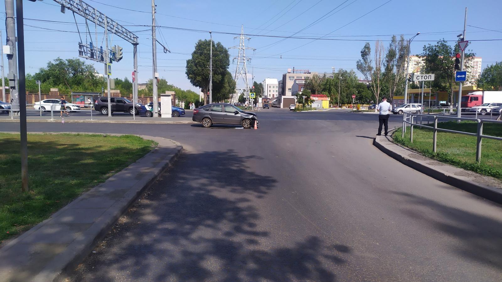 В Самаре в ДТП на Московском шоссе пострадал 2-летний ребенок