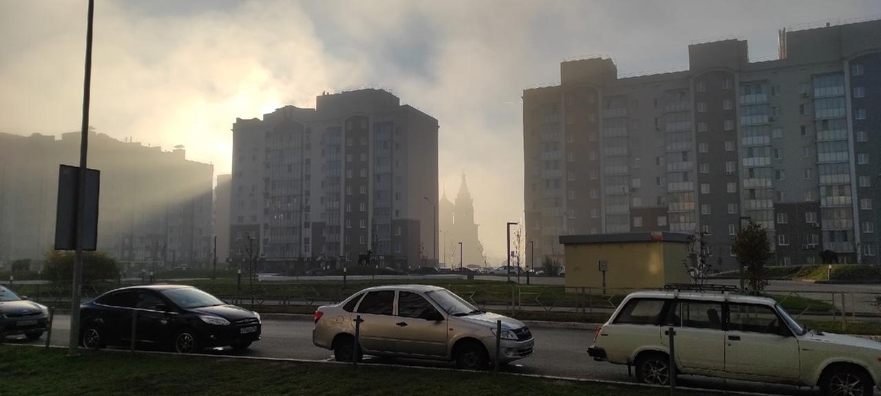 """""""Паниковский"""" во мгле: Самарская область попала во власть тумана"""