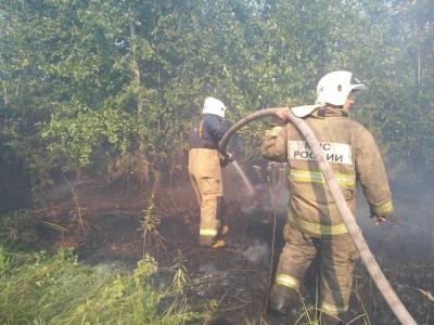 В Тольятти 11 июля продолжается большой пожар - заявление главы областного МЧС