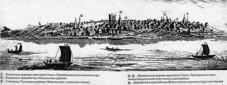 Самарские ученые начали изучение первого достоверного изображения города начала XVIII века