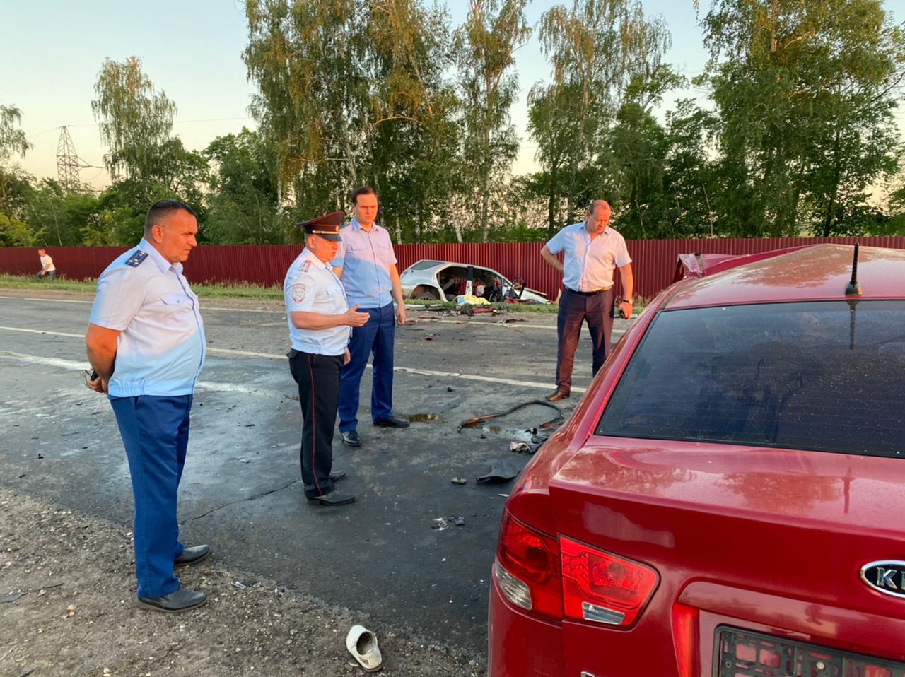 Появилось видео с места смертельной аварии в Кинельском районе Самарской области