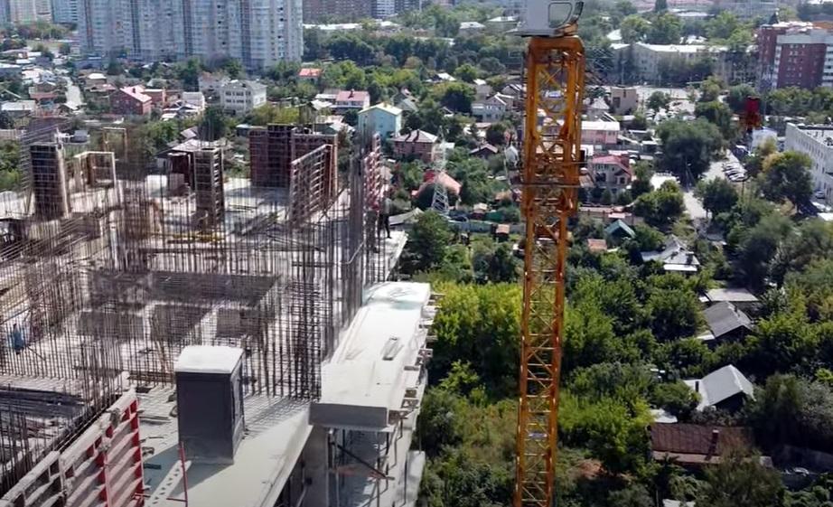 В Самаре на берегу Волги построили высотный жилой комплекс