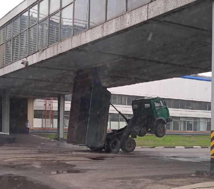 В Тольятти КамАЗ попытался стать трансформером