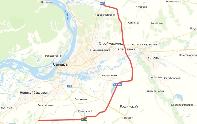 Самарская Обводная дорога стала федеральной трассой