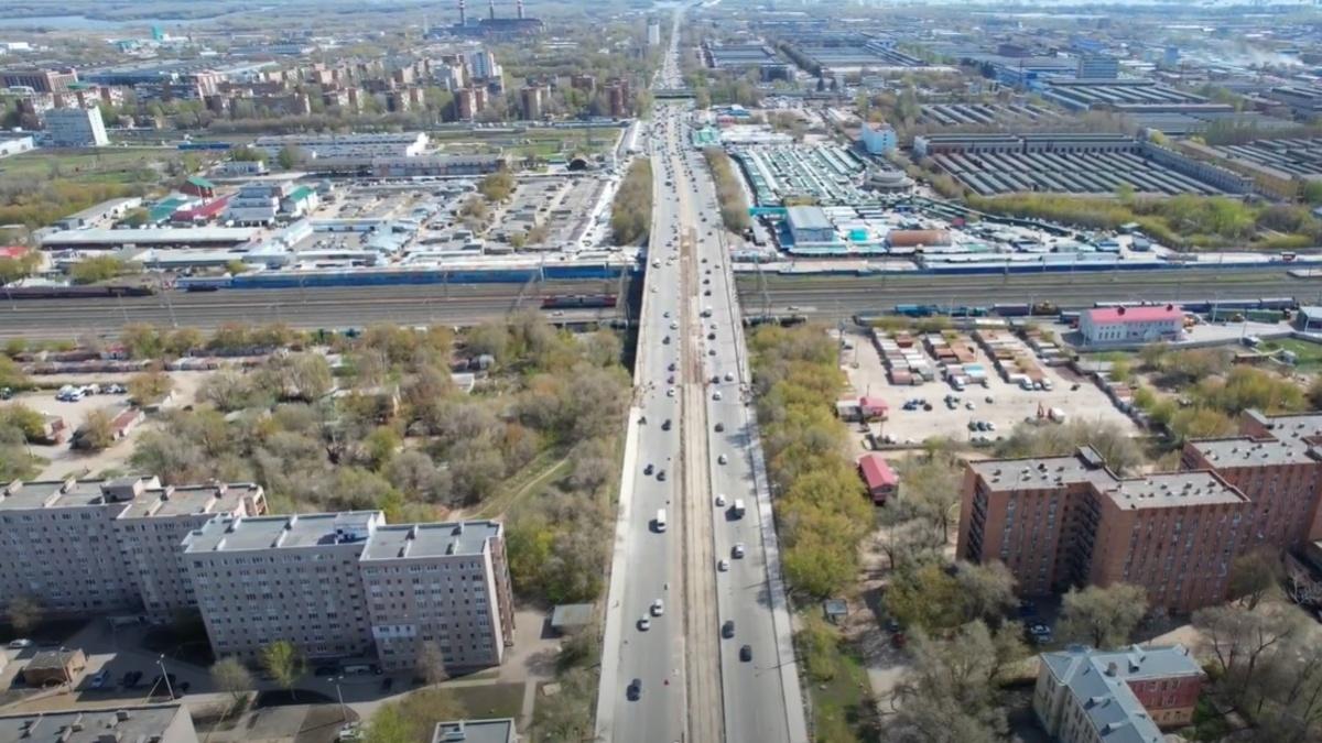 В Самаре стартовал ремонт Кировского моста и тротуаров по проспекту Кирова