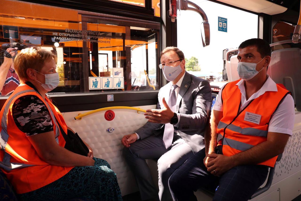 В Самаре начали курсировать новые троллейбусы «Адмирал»