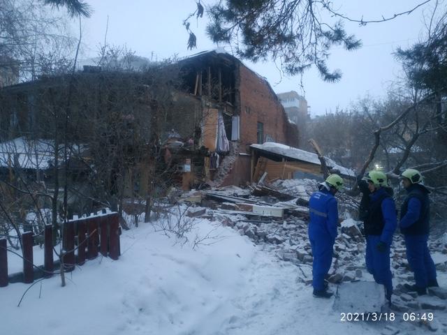 В Самаре обрушилась стена жилого дома 1909 года постройки