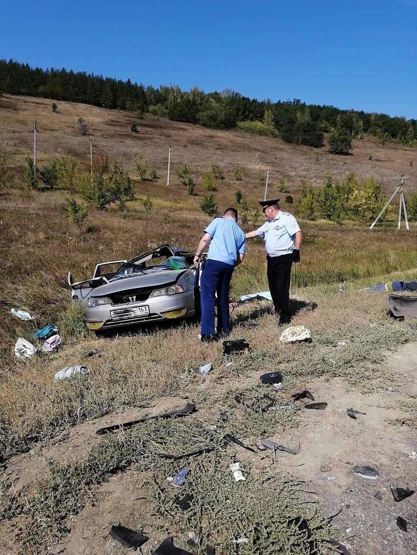 В Исаклинском районе Самарской области в ДТП погибли водитель и ребенок