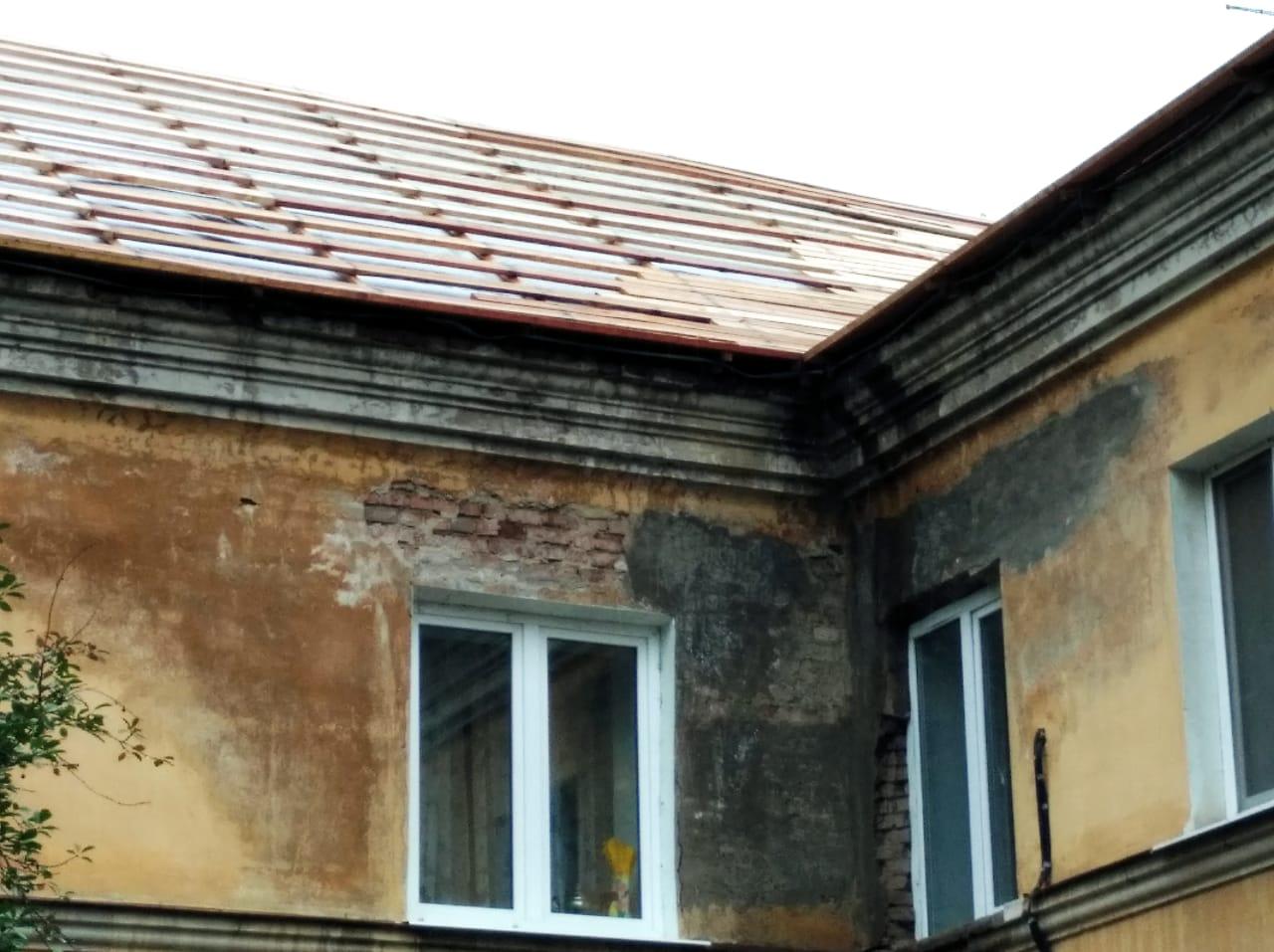В дождливую погоду самарцы остались без крыши