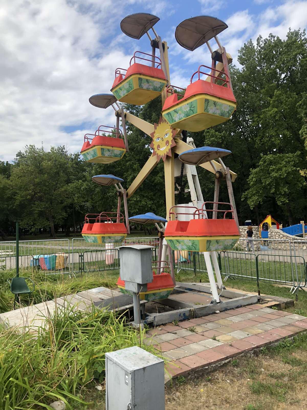 Прокуратура требует снести два аттракциона в парке Гагарина