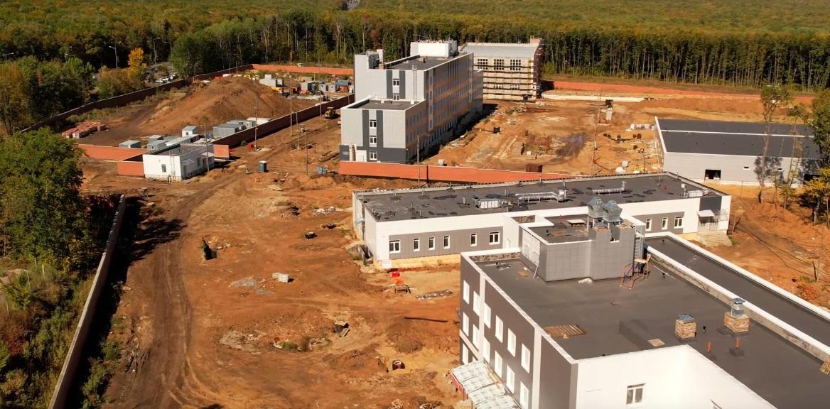 В Самаре у «Солидарность Арены» построили два корпуса для ГИБДД