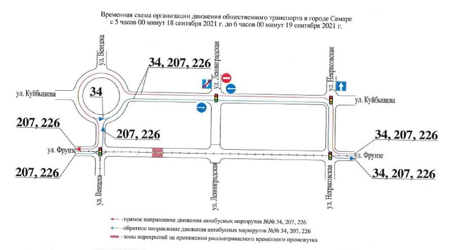 18 сентября 2021 года в Самаре вводятся временные ограничения
