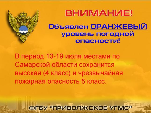 Леса под запретом: в Самарской области объявлен оранжевый уровень опасности