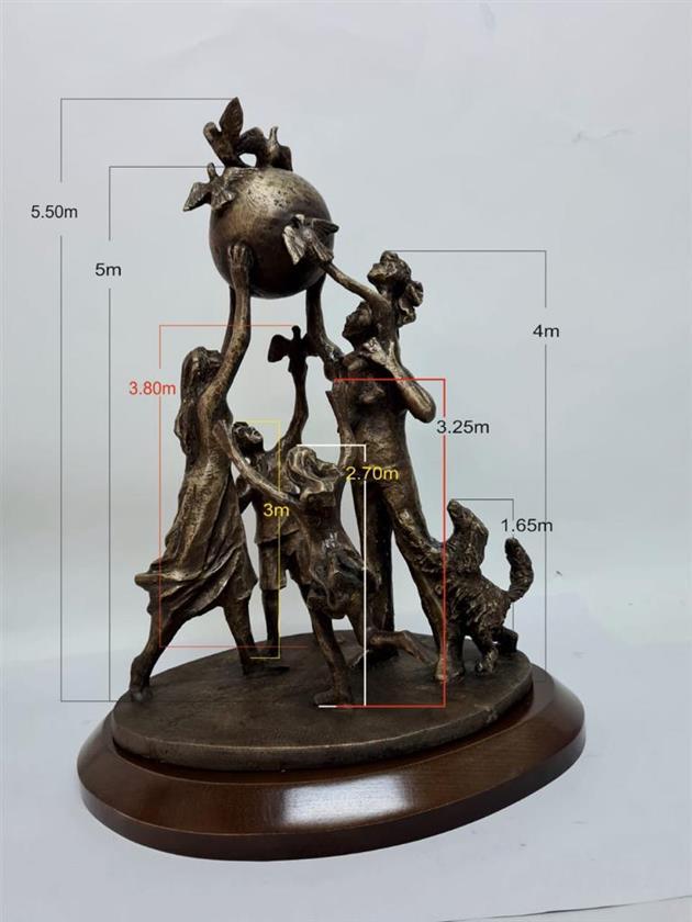 В Самаре хотят установить новый арт-объект «Мир на земле»