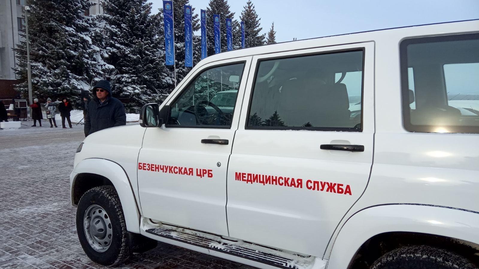 Медики Самарской области получили 26 новых автомобилей