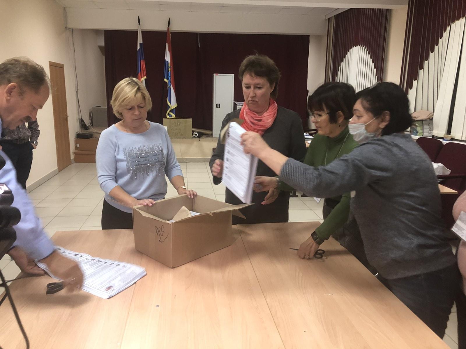 В Самарской области закончилось голосование