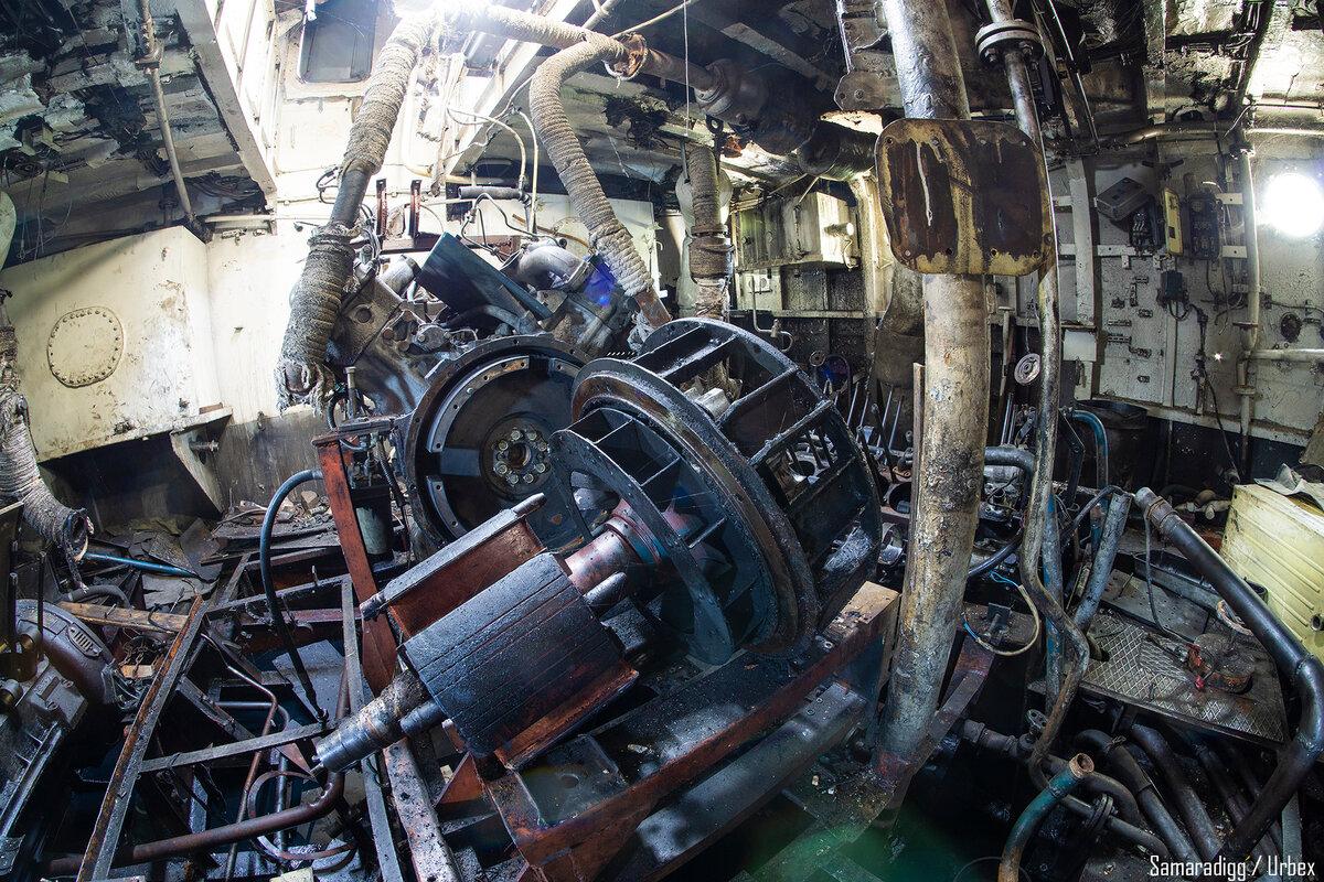 Под Самарой на Волге нашли заброшенный корабль МДК-759