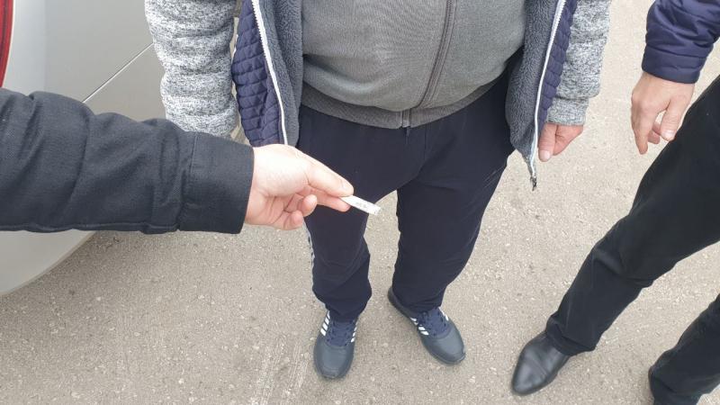 В Волжском районе задержали мужчину с героином