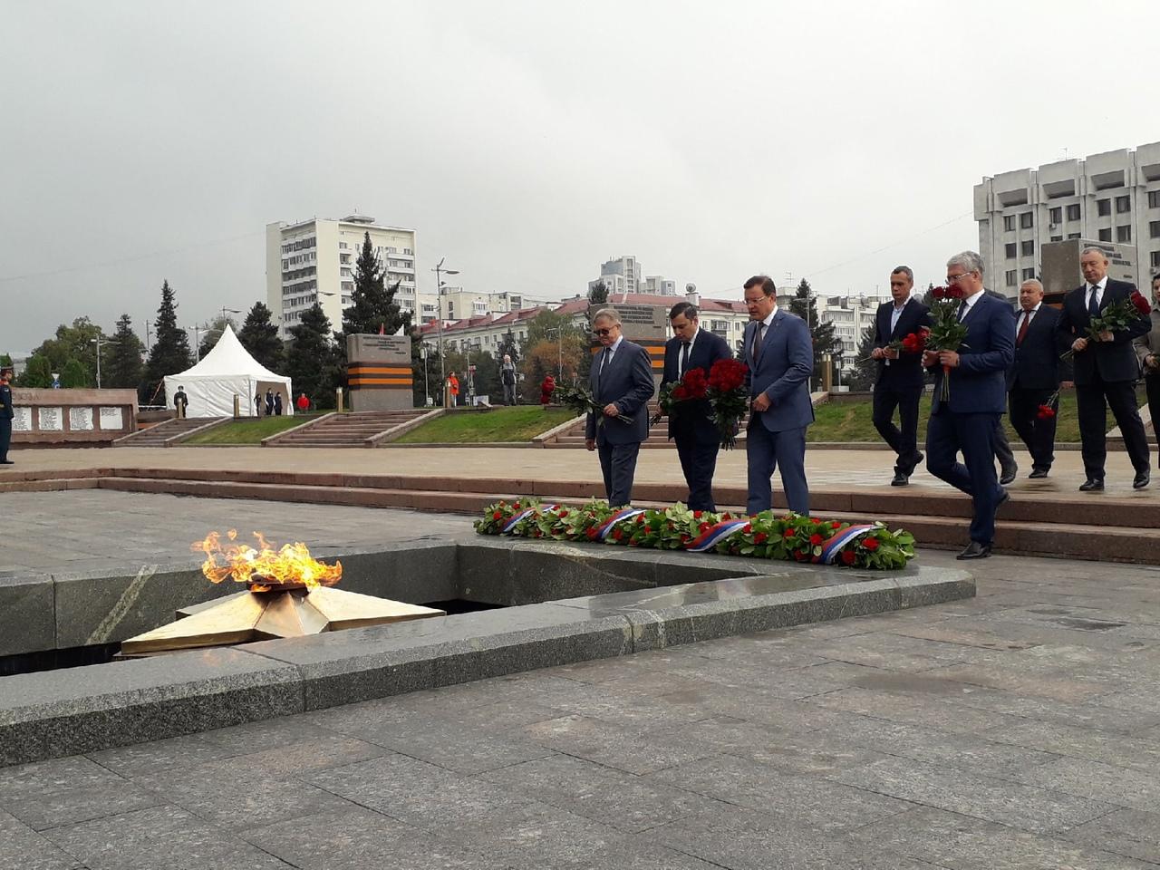 В Самаре открыли мемориальную доску в честь генерал-майоров Ивана Матюхина и Степана Жестакова