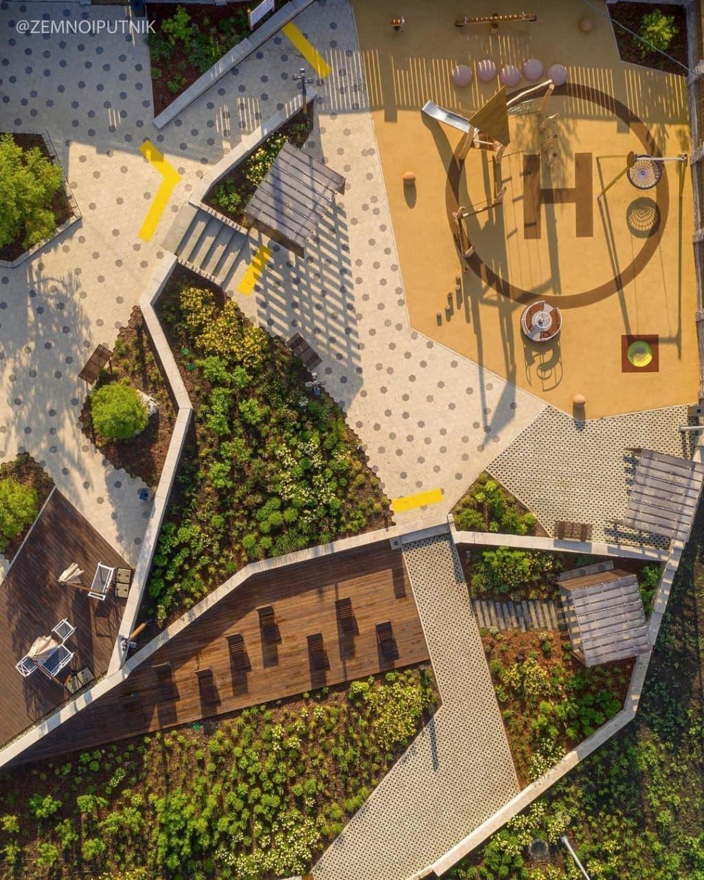 Кресла и качели: детали обновленной вертолетной площадки в Самаре