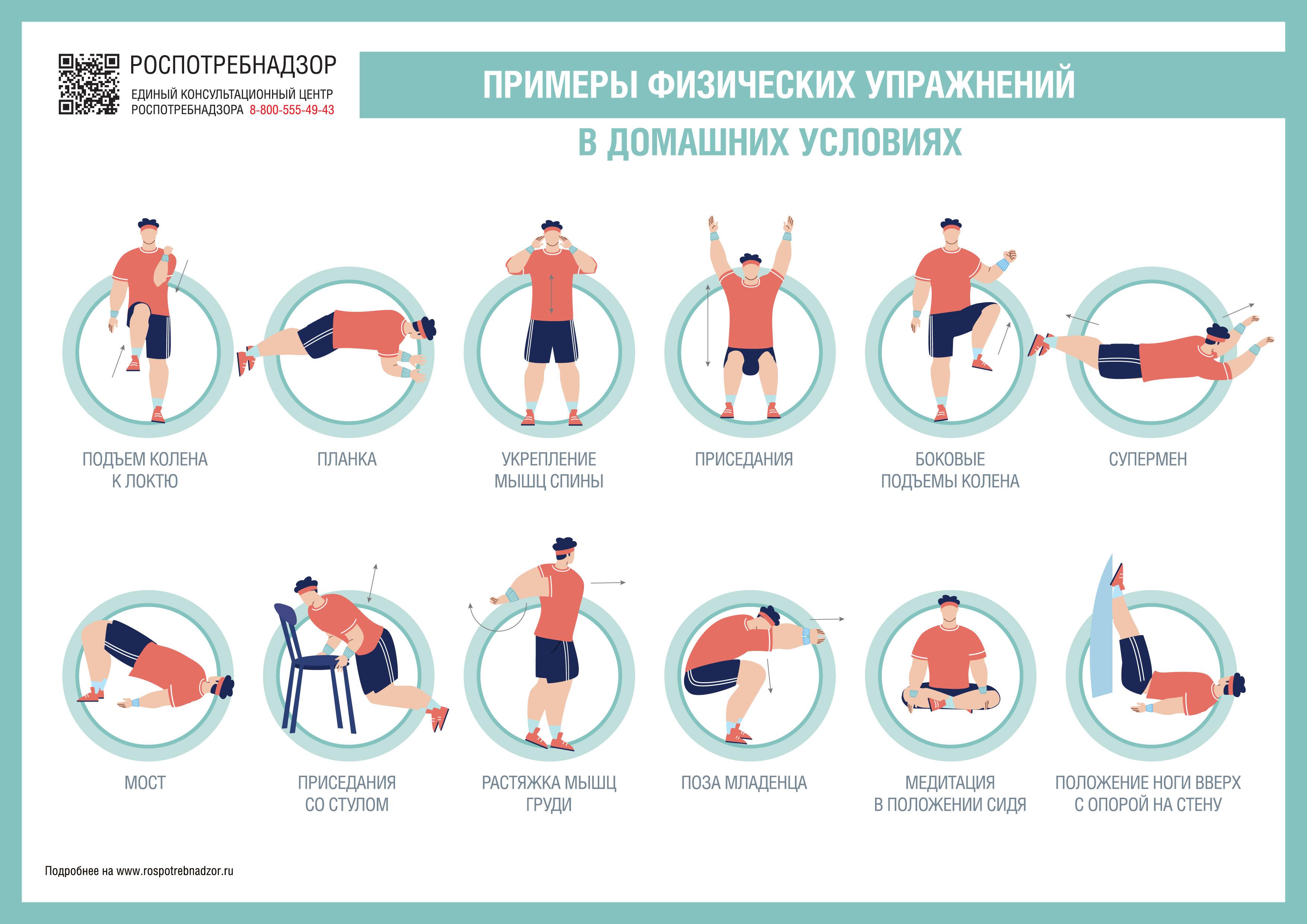 Как поддержать физическую форму в домашних условиях