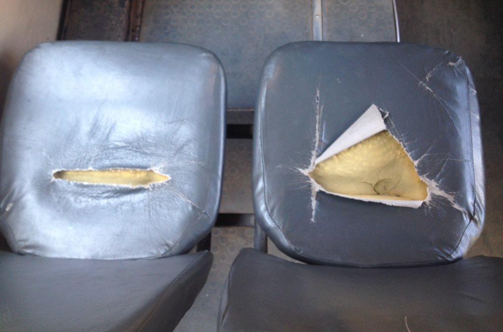 Жители Самары пожаловались на плохое состояние салонов городских автобусов