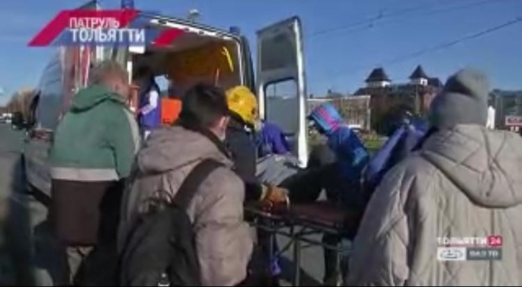 В Тольятти автоледи на Мерседесе сбила 41 летнюю женщину на пешеходном переходе