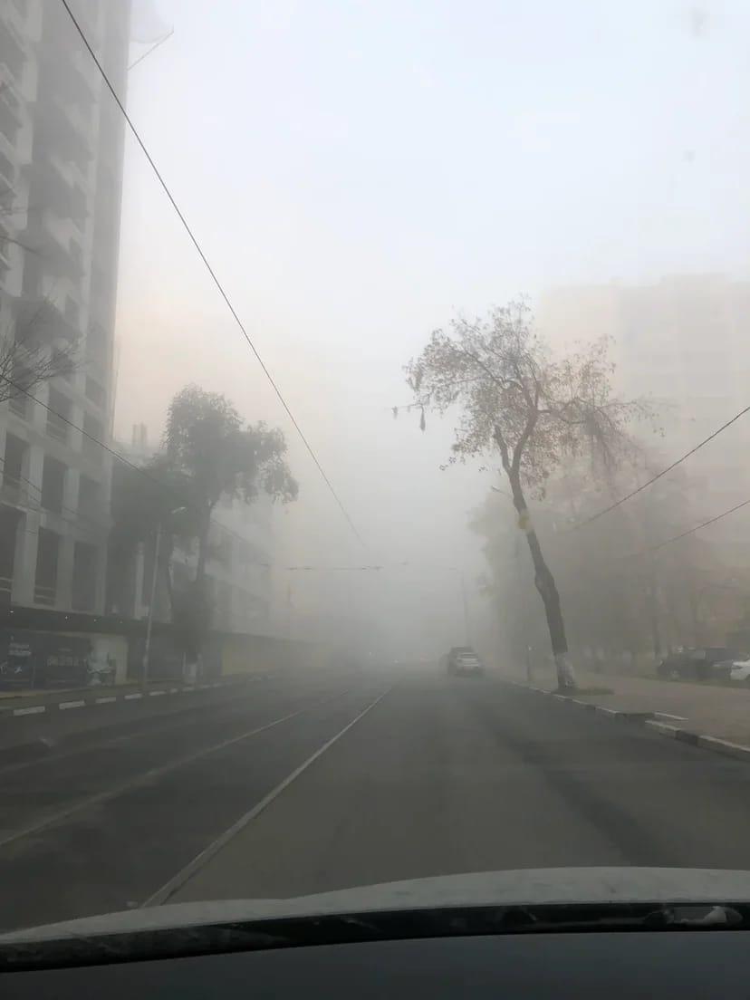 Самару накрыл мистический туман из фильма 8 октября 2021 года