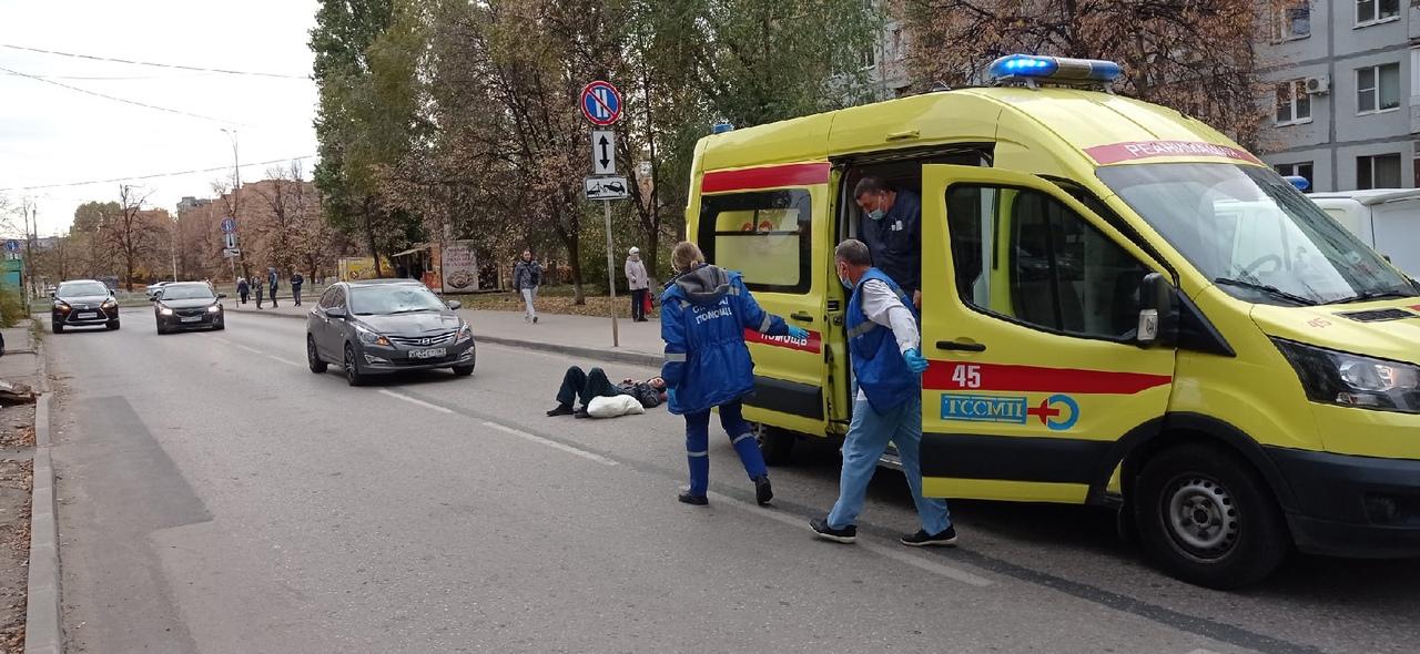 В Тольятти сбили мужчину на Ленинском проспекте
