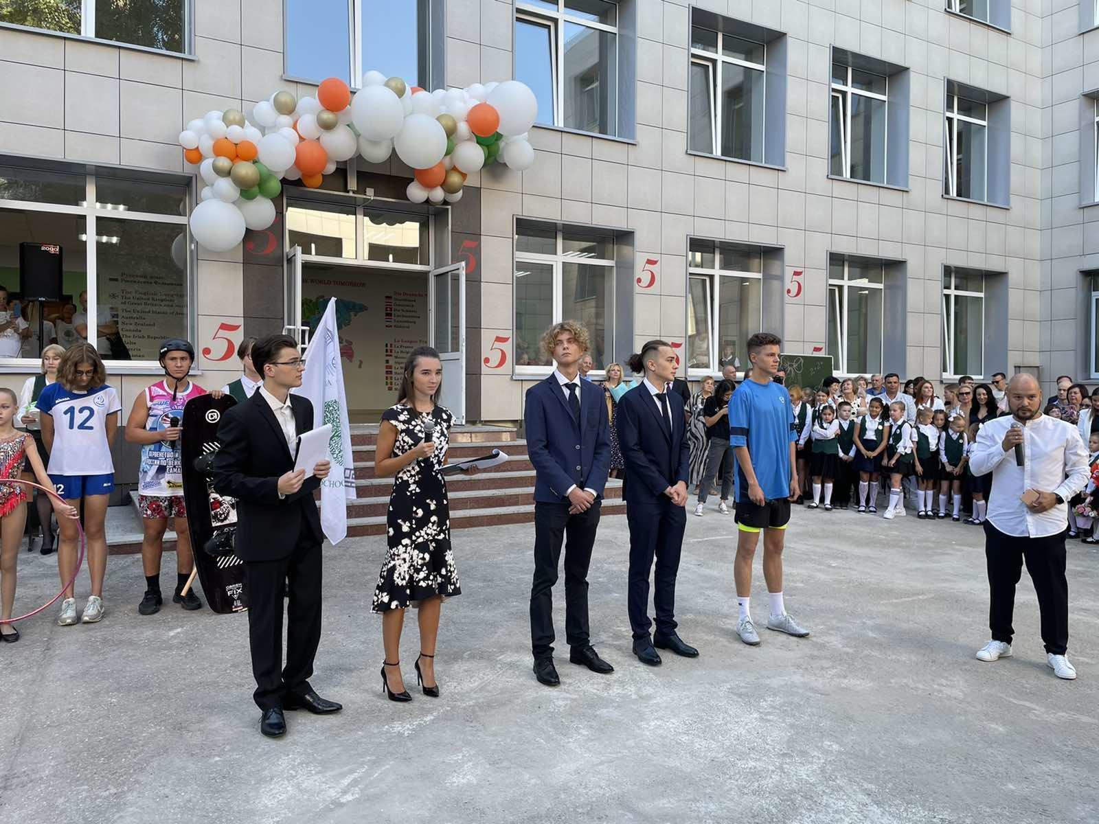 В Самарской области за парты 1 сентября 2021 года отправились 350 тысяч школьников