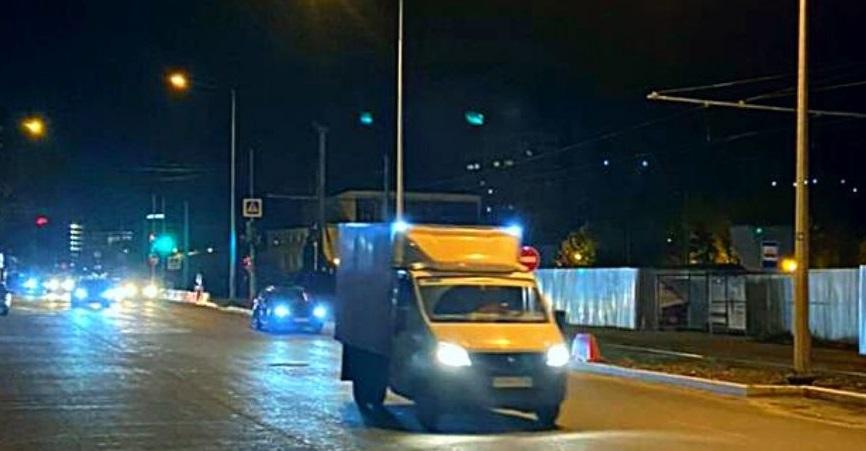 На дублере улицы Ново-Садовой в Самаре подключили новое освещение