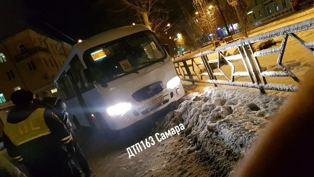 В Самаре водитель автобуса наехал на пешехода задавил его насмерть