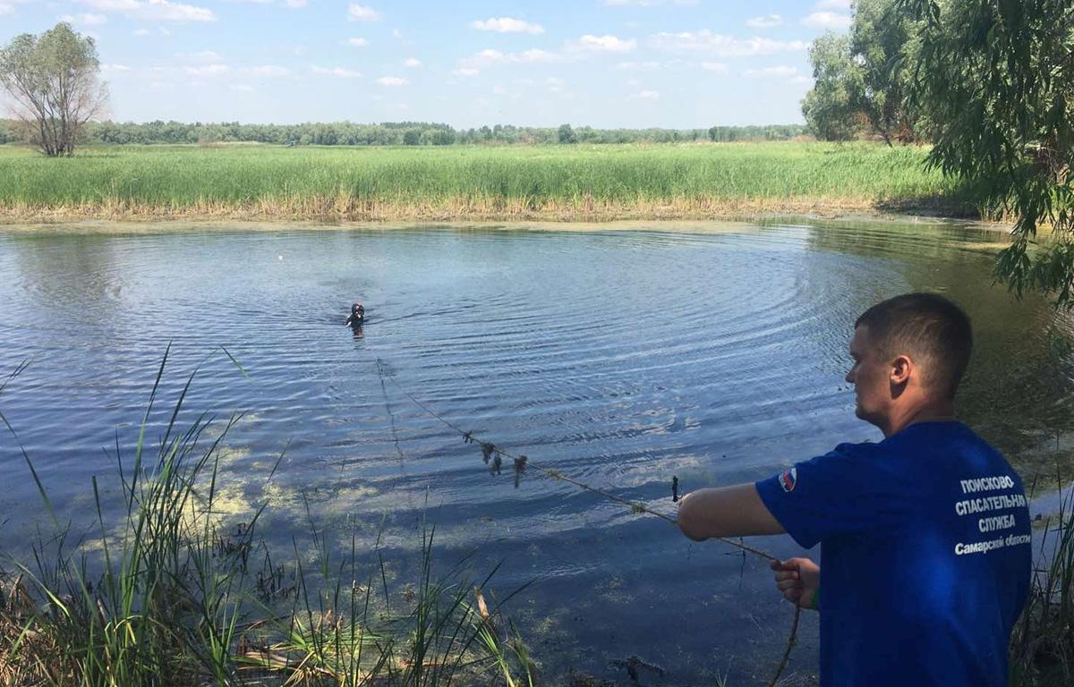 В Самарской области из воды достали трупы 14-летнего мальчика и мужчины