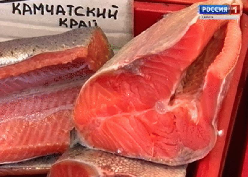 Выставка камчатской рыбы
