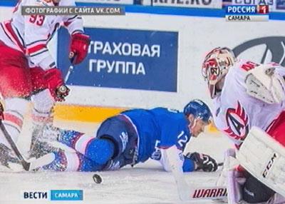 Необогнали: ХК «Автомобилист» вновь уступил тольяттинской «Ладе»