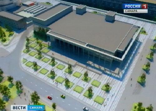 ВСамаре вместо замка спорта «ЦСК ВВС» построят новый спорткомплекс