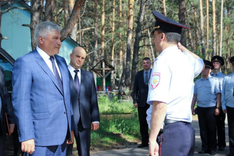 Министр внутренних дел России Владимир Колокольцев посетил Самару
