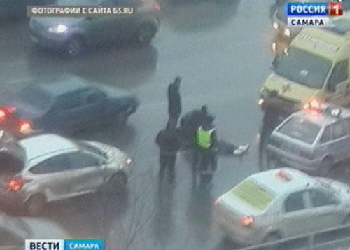 Наулице Ново-Садовой иностранная машина насмерть сбила пенсионерку