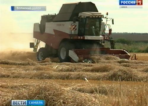 ВТатарстане намолочен первый миллион тонн зерна