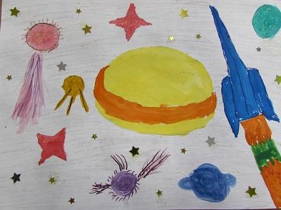 Сочинение фантазия на тему космос 5 класс