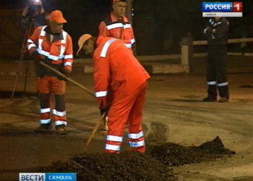 ВСамаре комплексный ремонт улично-дорожной сети начали намесяц раньше доэтого